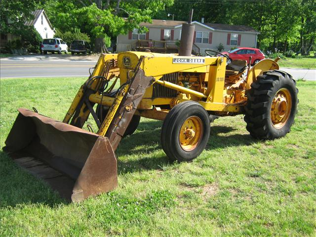 good running john deere 300 industrial loader tractor ebay. Black Bedroom Furniture Sets. Home Design Ideas